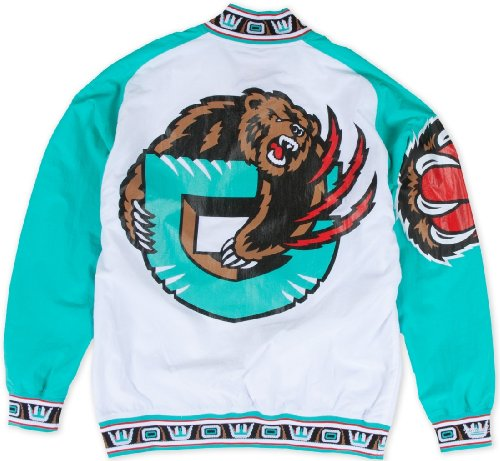 Vancouver Grizzies Mitchell & Ness Authentic 95-96 Warmup Premium Jacket - White