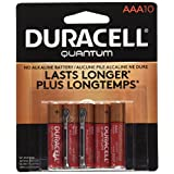 Duracell Quantum Alkaline AAA Batteries, 10-Count