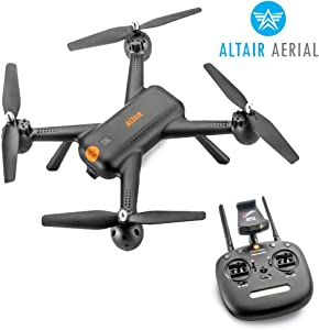 Altair Aerial AA300 GPS Beginner Drone with Camera, 1080p FPV Video & Photography Remote Control Camera Drone w/ Autonomous Return Home, Follow Me, RC Drone for Kids & Adults (Lincoln, NE Company)