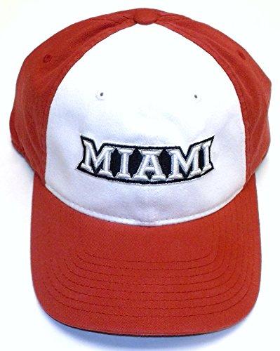Miami University Red Hawks Slouch Flex Adidas Hat - L/XL - ES15Z