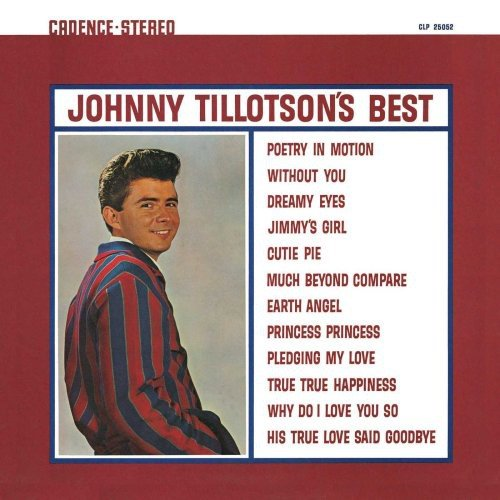 Johnny Tillotson's Best by Jvc Japan