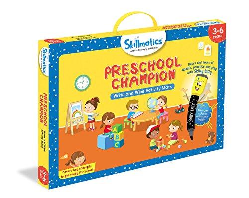 51yei2xN1KL - Skillmatics Educational Game: Preschool Champion (3-6 Years) | Creative Fun Activities for Kids