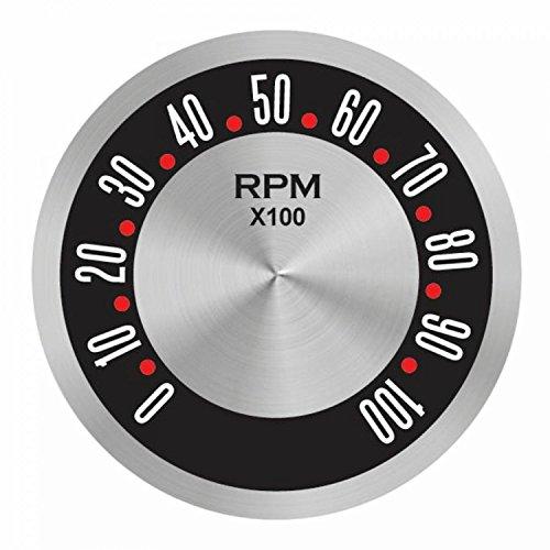 Aurora Instruments American Retro Rodder Series Tachometer Face
