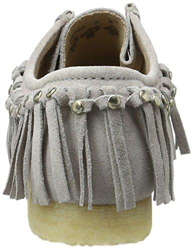 Sioux Damen Grash-d161-03 Mokassin Grau (Linen)
