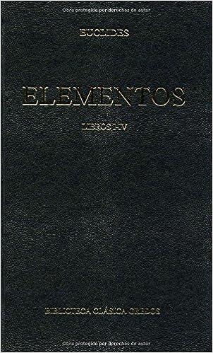 Descargar desde google books mac os Elementos libros i-iv (B. CLÁSICA GREDOS) en español ePub