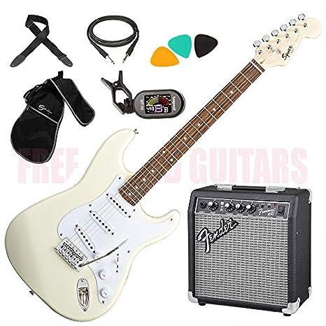 Plegable Para perros y Bullet ATW EDS Color blanco guitarra ...