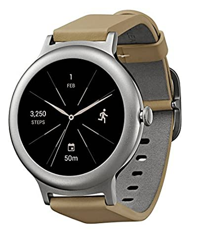 LG Watch STYLE 42.3mm Smartwatch Compatible with iOS and Android with Built-in Google Assistant