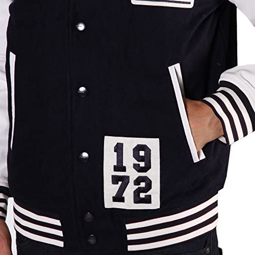 adidas Herren Badge Bomber Jacke, Legend Ink, L: