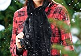Rechargeable Heated Scarf - Black