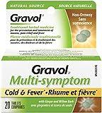 'GRAVOL (20 tablets) MULTI-SYMPTOM Antinauseant for NAUSEA, PAIN RELIEF, FEVER & MOTION SICKNESS