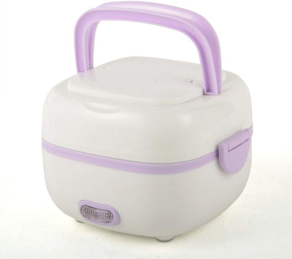 Mini Rice Cooker, Electric Lunch Box, Travel Rice Cooker Small, Removable Non-stick Pot, Keep Warm Function, Suitable For 1-2 People - For Cooking Soup, Rice, Stews, Grains & Oatmeal