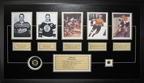 Bobby Orr Autographed Puck - 5 Card Set - Autographed NHL Pucks Bobby Orr Autographed Puck