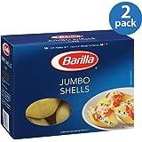 Barilla Jumbo Shells Pasta, 12 Oz (pack of 2)