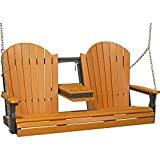 Cheap LuxCraft Adirondack 5ft. Recycled Plastic Porch Swing