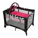 Pack Play Girls Best Deals - Graco Pack N Play Playard with Automatic Folding Feet, Azalea