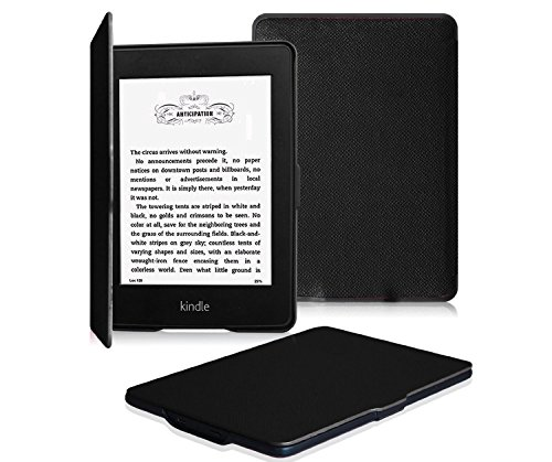 Gvirtue Smart Ultra Slim Case for All-New Amazon Kindle Paperwhite (Fits All Versions: 2012, 2013, 2014, 2015 and 2016 All-new 300 PPI Versions)- Protective Cover with Auto Wake / Sleep