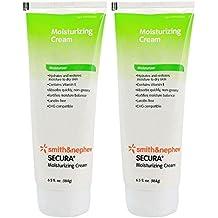 Secura Moisturizing Cream - Lanolin Free - 6.5 oz Tube - Pack of 2