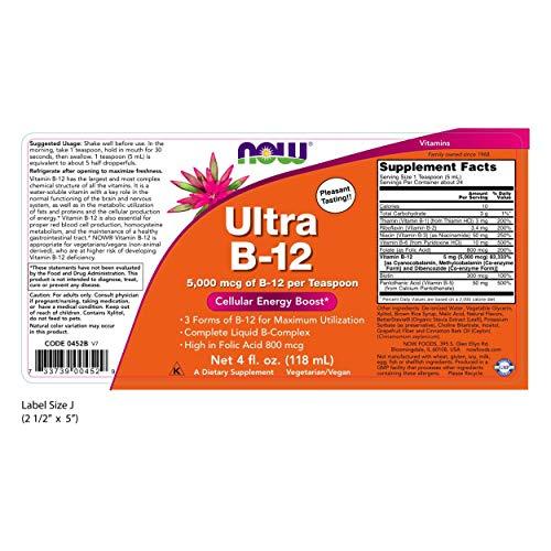 Now Ultra B12 4 oz