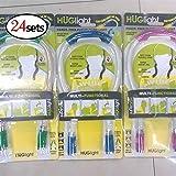 XuBa Neck Hug Night Light Lamp Flexible Adjustable 4 Modes LED Handsfree Reading Book Lamp(24pcs)