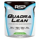 RSP QuadraLean Stimulant Free Fat Burner Powder, Weight Loss Supplement, Appetite Suppressant & Metabolism Booster, Diet Powder for Men & Women (Green Apple, Powder, 30 Servings)