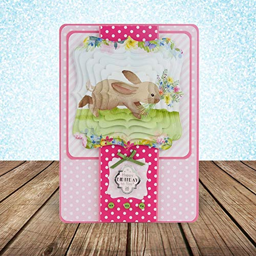 (Hunkydory Square Little Book of Sweet Springtime- 150 Pages 5x5-inches LBSQ121)