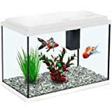 All Pond Solutions - Aquatlantis Funny Fish 35 Aquarium Fish Tank - 13 Litres - White