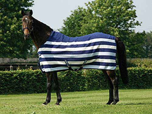 Rambo Newmarket Fleece Cooler - Horseware Rambo Newmarket Fleece Cooler 81 Navy