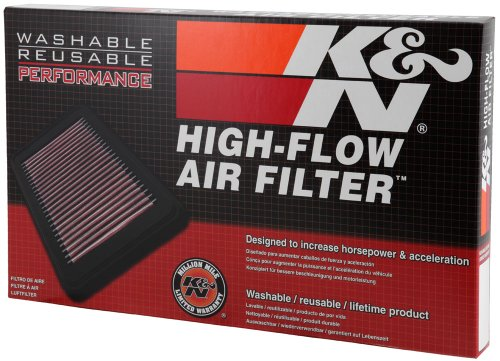 K&N 33-2333 High Performance Replacement Air Filter by K&N