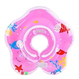 Floating Swim Ring PVC Inflatable Baby Shoulder Strap Swimming Ring (Pink)