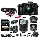 Panasonic LUMIX DMC-G85MK 4K Mirrorless Lens Camera Kit (Rode Mic Vlogging Kit)