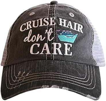 9bdda5eb890 Katydid Cruise Hair Don t Care Baseball Hats Caps at Amazon Women s Clothing  store