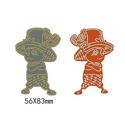 Amazon.com: Troqueles de corte – chico fresco con tapa de ...