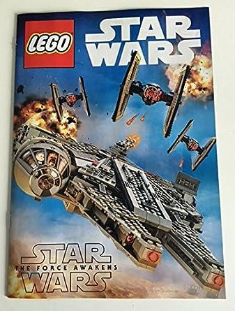 Star Wars The Force Awakens Lego Booklet 65 X 95 Original