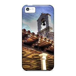High Grade Flexible PC Case Cover For SamSung Galaxy S6 Bell Tower On Church In Croatia Hdr