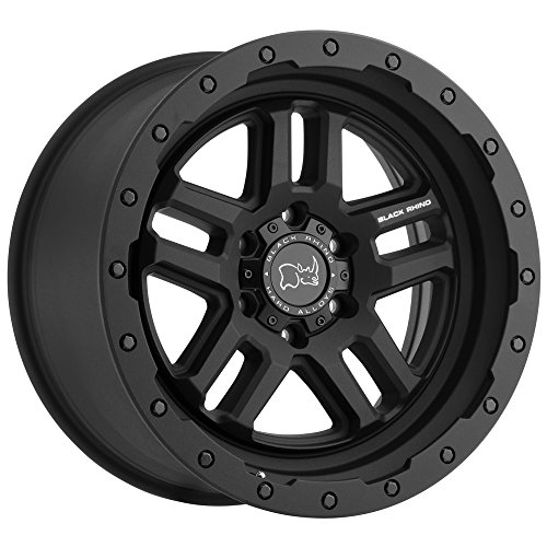 BLACK RHINO Rim Barstow 20X9.50 5x5.5 0 Textured Matte Black
