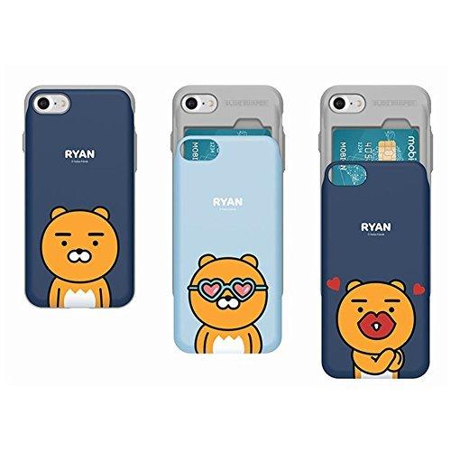quality design 7cddb 03da2 Amazon.com: Kakao Friends, iPhone Card Slide Case, iPhone 7 / 7Plus ...