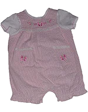 Baby-girls Layered Look Romper