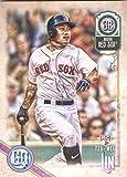 2018 Topps Gypsy Queen #171 Tzu-Wei Lin Boston Red Sox Rookie Baseball Card - GOTBASEBALLCARDS