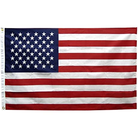 American Flag 2 5ft X 4ft Polyester Annin Made In The USA