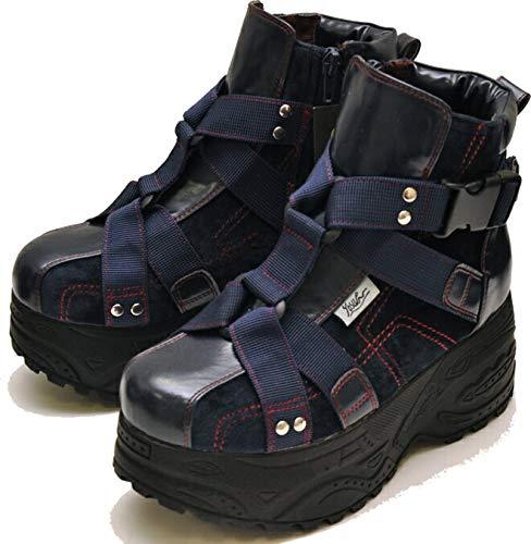 YOSUKE U.S.A ヨースケ 厚底スニーカー ハイカット 厚底ブーツ スニーカーブーツ プラットフォーム
