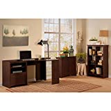 Bush Furniture Buena Vista Corner Desk with Low Storage Cabinet and 6 Cube Bookcase Review