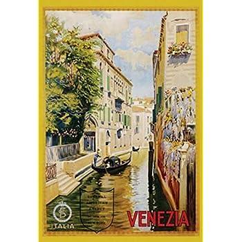 VENICE VENEZIA ITALY 36142 VINTAGE TRAVEL POSTER 24x36