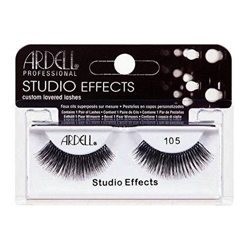(3 Pack) ARDELL Studio Effects Custom Layered Lashes 105 Black