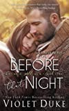 download ebook before that night (unfinished love) (volume 1) pdf epub
