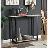 Convenience Concepts Graystone Console Table, Faux Birch