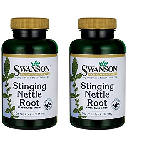 Swanson Stinging Nettle Root 500 mg 100 Caps 2 Pack