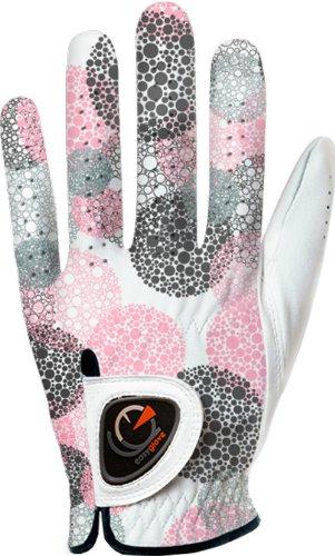 easyglove Spring_Bubble-Purple-W Women s Golf Glove White