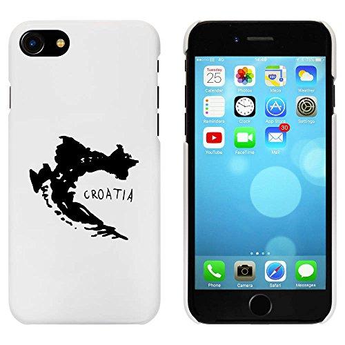 Blanc 'Croatie' étui / housse pour iPhone 7 (MC00077190)