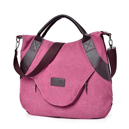 Toile Zippée Marcel Rouge Main Cabas Little Bag Sac Corssbody À Bandoulière amp; Vin Avec Femmes Sacs Beautyjourney Xpx4Inp