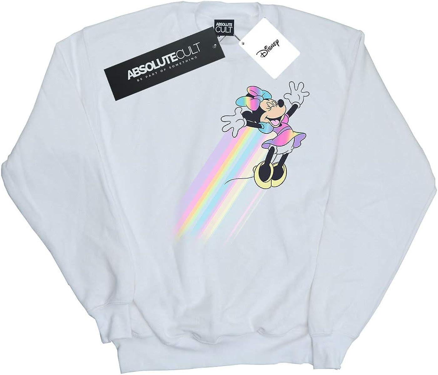 Disney Girls Minnie Mouse Whoosh Sweatshirt